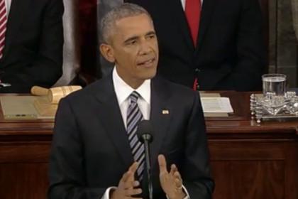 Обама рассказал о мощи США и отходе Украины и Сирии от России