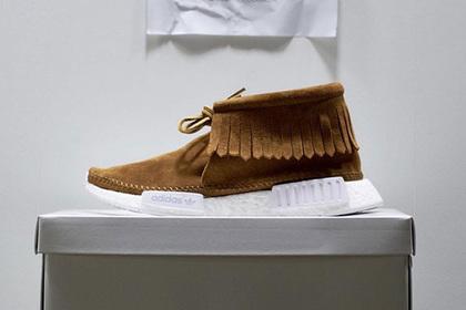 76a1f7fe7364 Дизайнер превратил кроссовки adidas в обувь индейцев » GFAclaims.com ...