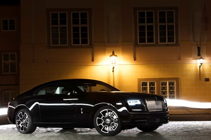 Первый Rolls-Royce Wraith Black Badge прибыл в Россию